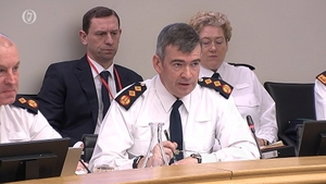 Drew Harris was at the Oireachtas Justice Committee today