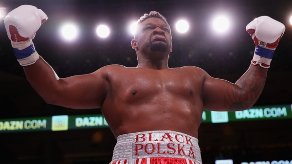 Jarrell Miller is set to fight Anthony Joshua for the heavyweight world title in June