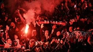 Paris St Germain face a UEFA charge over their fans behaviour