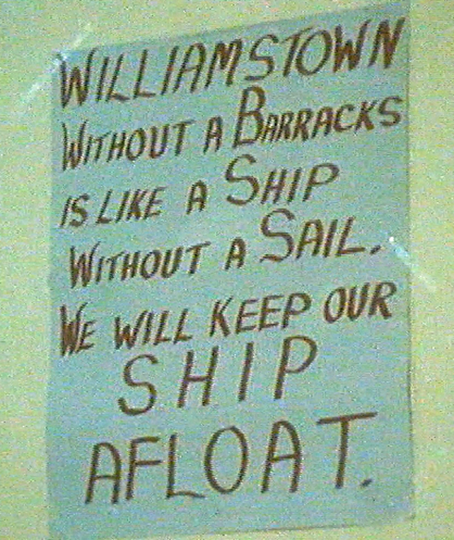 Poster in Williamstown