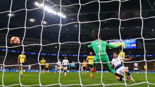 Jan Vertonghen fires home Tottenham's second