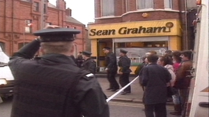 Five people died in an attack on a betting shop in 1992