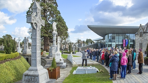 Glasnevin Cemetery has been open since 1832 and is the resting place of 1.5 million people.