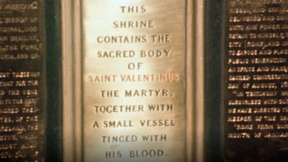 St Valentine at Whitefriars