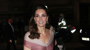 Kate was every inch the fairy tale royal at the gala. Photo: Getty