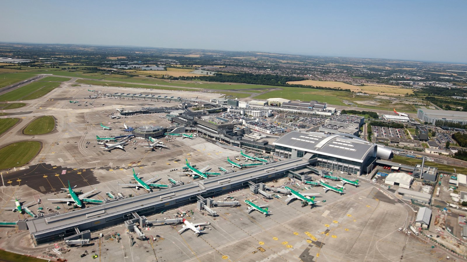 Dublin Airport flights suspended due to drone