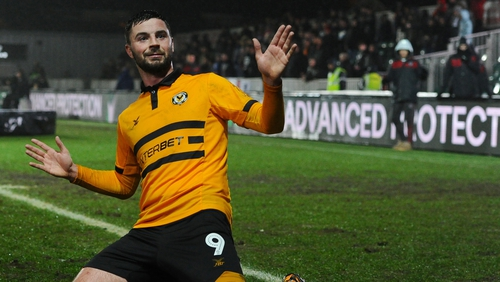 """Padraig Amond: """"First and foremost we have to put in a performance that we can be proud of."""""""
