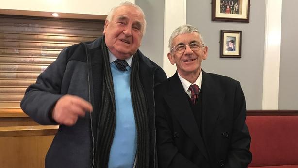 Jim Egan and Finbar