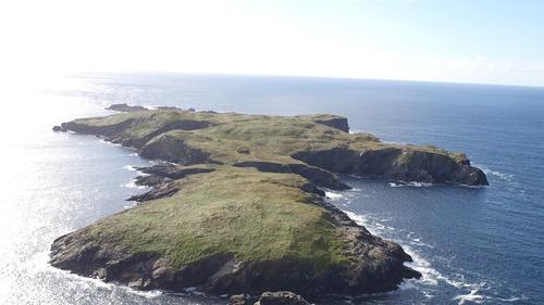 High Island, or Ardoileán, is located off the Conamara coast