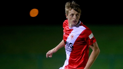 Chris Forrester is back in Inchicore