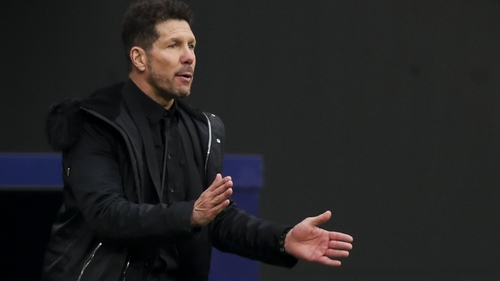 "Diego Simeone: ""I see hard work, I see players focused on improving, I see excitement, I see youth."""