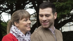 Berni and her boyfriend Briain -Berni makes an ominous decision this week on Ros na Rún
