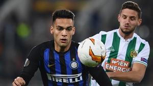 Lautaro Martínez of Inter Milan