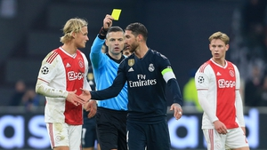 Sergio Ramos is in hot water after his yellow card admission
