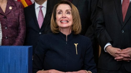 Nancy Pelosi willalso address the Dáil on Wednesday to mark its 100th anniversary