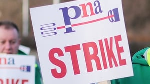 PNA ambulance staff are carrying out their fourth day of strike action