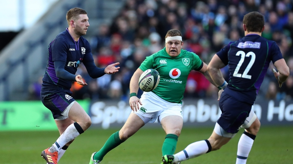 Sean Cronin helped Ireland to a win over Scotland