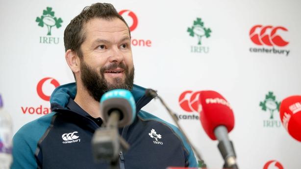 Sexton back in full Ireland training