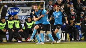 A set-piece strike gave Sligo a 1-0 lead at half-time