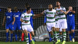 Shamrock Rovers recorded a 2-1 win against Waterford on the opening day of the season