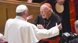 Theodore McCarrick, pictured with Pope Francis, is the first cardinal ever to be defrocked for sex abuse