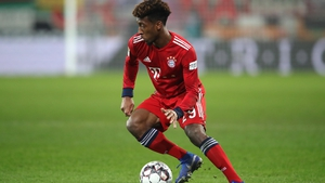 Kingsley Coman turned his ankle during the win over Augsburg