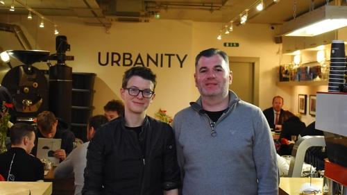 Rachel Lynch and Jason Mac an Tsionnaigh of Urbanity.