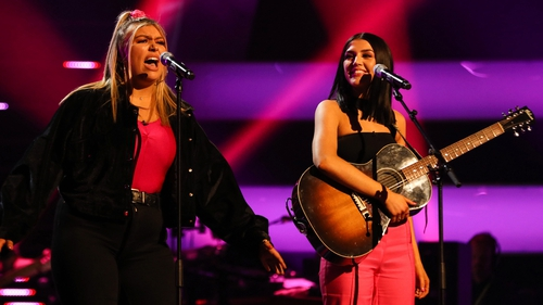 Georgia Gaffney and Missy Keating on The Voice UK