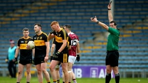 Johnny Buckley was sent off after 20 minutes of the semi-final
