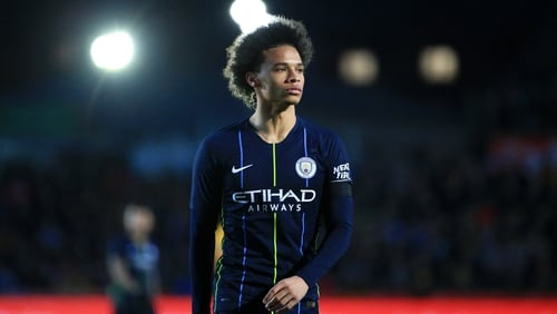 Leroy Sane has been linked with a move to Bayern Munich