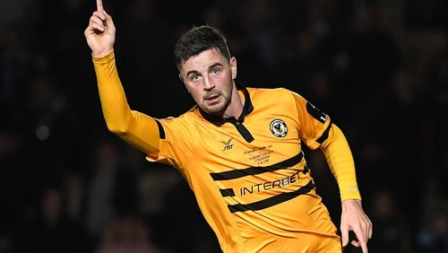 Padraig Amond scored another goal to remember