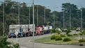 Maduro shuts Venezuela's border with Brazil amid aid row