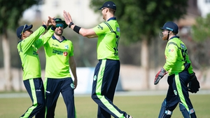 Ireland limited the Netherlands to 182-9