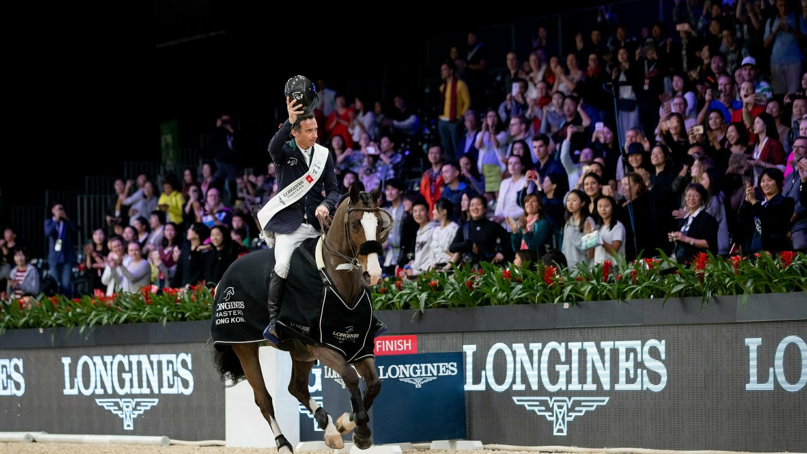 Lynch caps incredible weekend for Irish equestrian