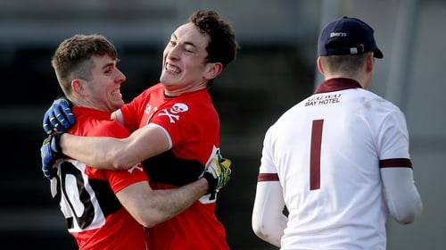 UCC sealed a three-point win over NUIG in the last-four tie