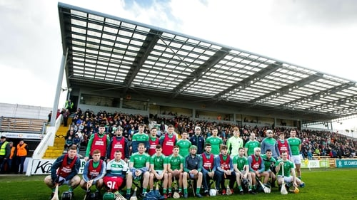 Limerick squad at Nowlan Park