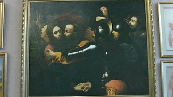 Caravaggio 'The Taking of Christ' by Tom Brennan