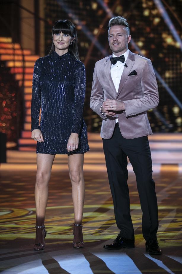 Jennifer Zamparelli and Nicky Byrne