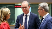 Simon Coveney is in Brussels for a meeting of the Foreign Affairs Council