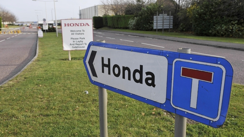 Honda's Swindon plant currently produces 150,000 cars a year