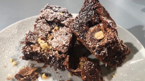 Jack's Ferrero Rocher Chocolate Brownies