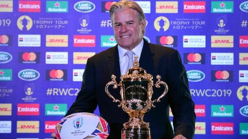CEO of World Rugby Brett Gosper