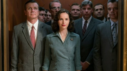 British actress Felicity Jones is mostly believable as Ruth Bader Ginsburg