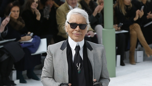 74d8bffda1 Karl Lagerfeld was artistic director at Chanel and creative director at  Fendi