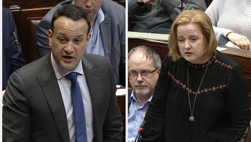 Leo Varadkar was responding to questions from Ruth Coppinger