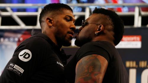 He's a soft puncher' - Joshua ...