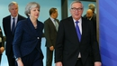 Last night's meeting between Theresa May and Jean-Claude Juncker was described as 'constructive'