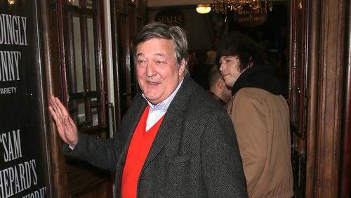 Stephen Fry: a great noggin for the Noggin