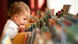 Children will get free books at various points until they are one year old.