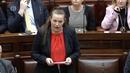 Sinn Féin's Louise O'Reilly said Simon Harris was 'not up to the job'